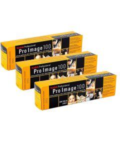 3 x Kodak Pro Image 100 Professional Film 135 36 Exp (5 Pack)