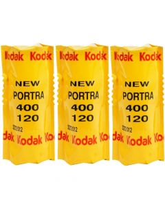 Kodak Portra 400 120 Roll Film Professional (5 Pack)