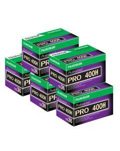 5 x Fuji Pro 400 H Film Pack 135 (36 Exposures)
