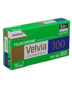 Fuji Velvia 100 120 Roll Film (Pack of 5)