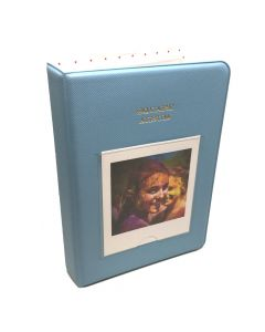 64 Pocket Album for Fujifilm Instax SQUARE Film - Blue