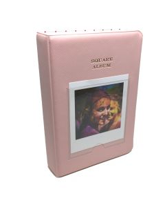 64 Pocket Album for Fujifilm Instax SQUARE Film - Pink