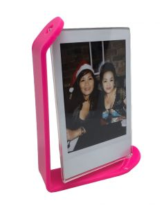 Acrylic Photo Frame for Fujifilm Instax Mini Film (Hot Pink)