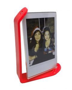 Acrylic Photo Frame for Fujifilm Instax Mini Film (Red)
