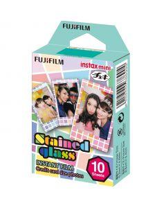 Fujifilm Instax Mini STAINED GLASS Film (10 Shots)
