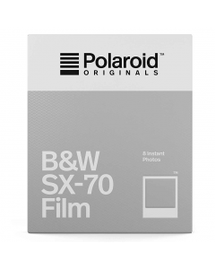 Polaroid Originals SX70 B&W Film Pack (8 Shots)