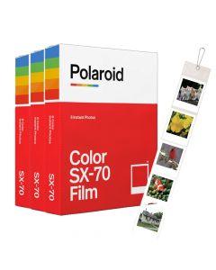 Polaroid Originals SX70 Color Film TRIPLE Pack (24 Shots)