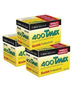 3 x Kodak T-Max 400 Professional Film 135 (36 Exp)