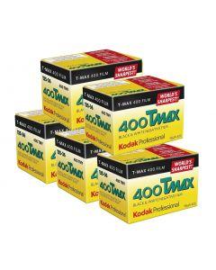 5 x Kodak T-Max 400 Professional Film 135 (36 Exp)