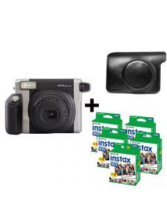 Fujifilm instax Wide 300 Camera + 100 Pack Film + Case