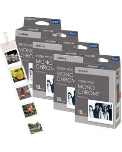 Fujifilm Instax WIDE Monochrome Film Bundle Pack (40 Shots)