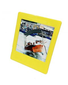 Square Photo Frame for Fujifilm Instax SQUARE Film (Yellow)