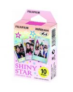Fujifilm Instax Mini SHINY STAR Film (10 Shots)