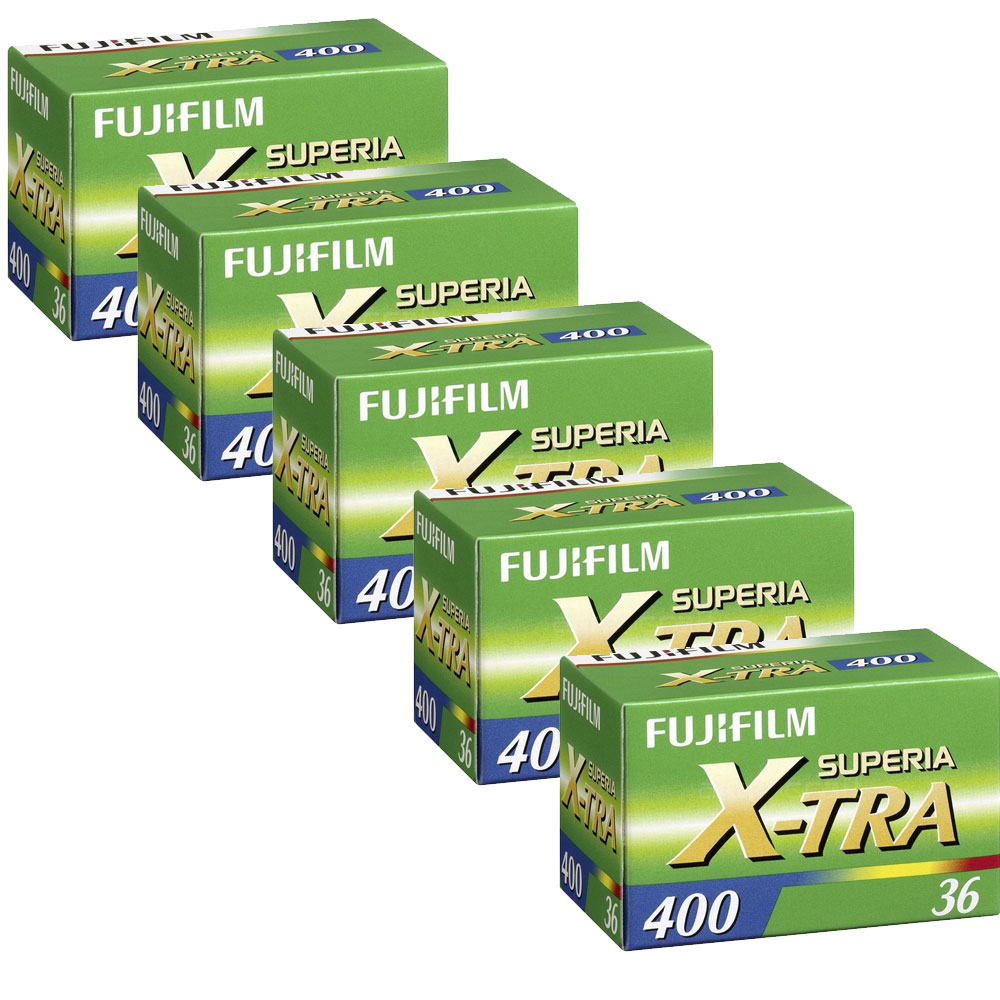 Compare retail prices of 5 x Fuji Superia X-Tra 400 Film 135 36 Exp to get the best deal online