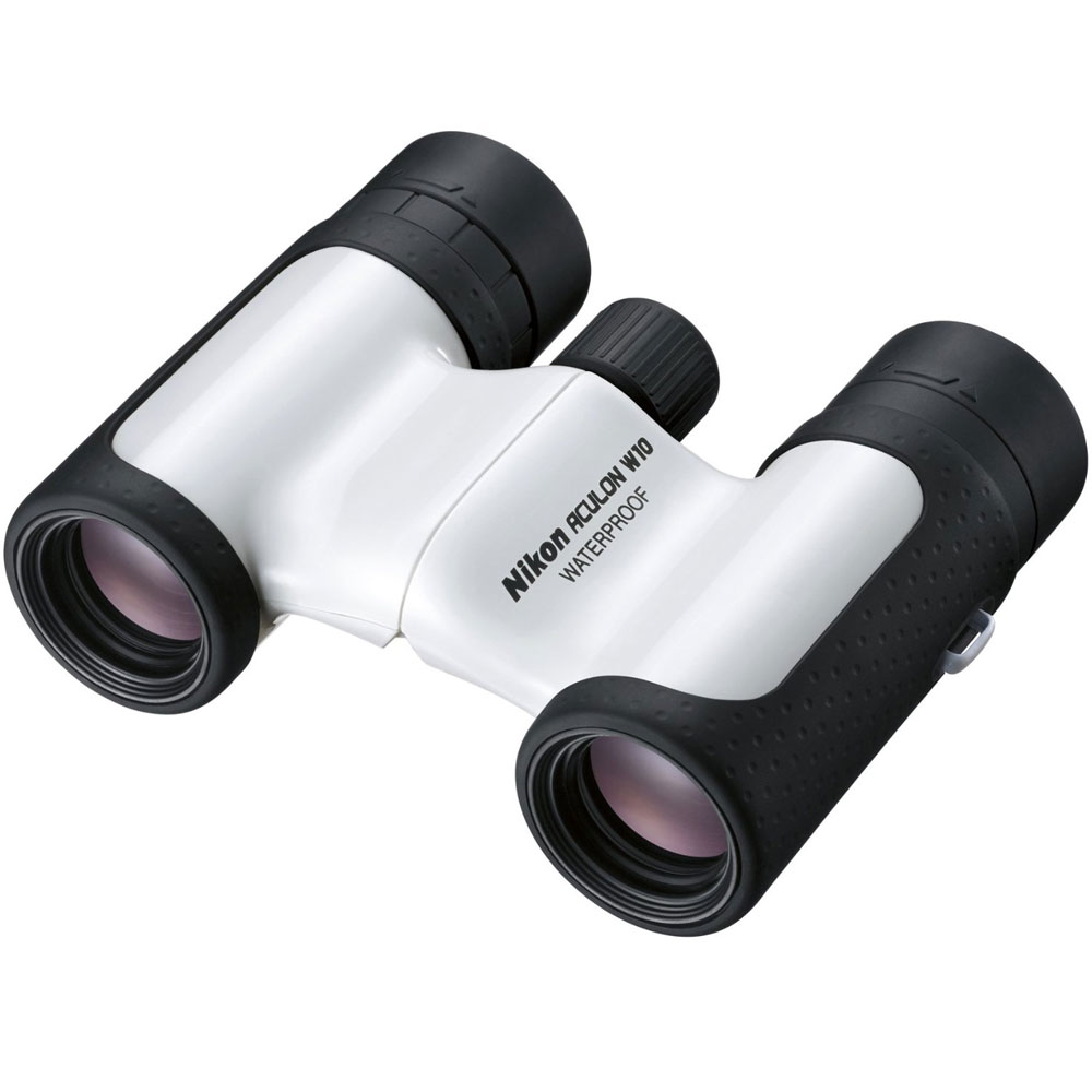 Nikon Aculon W10 10x21 Binoculars - White