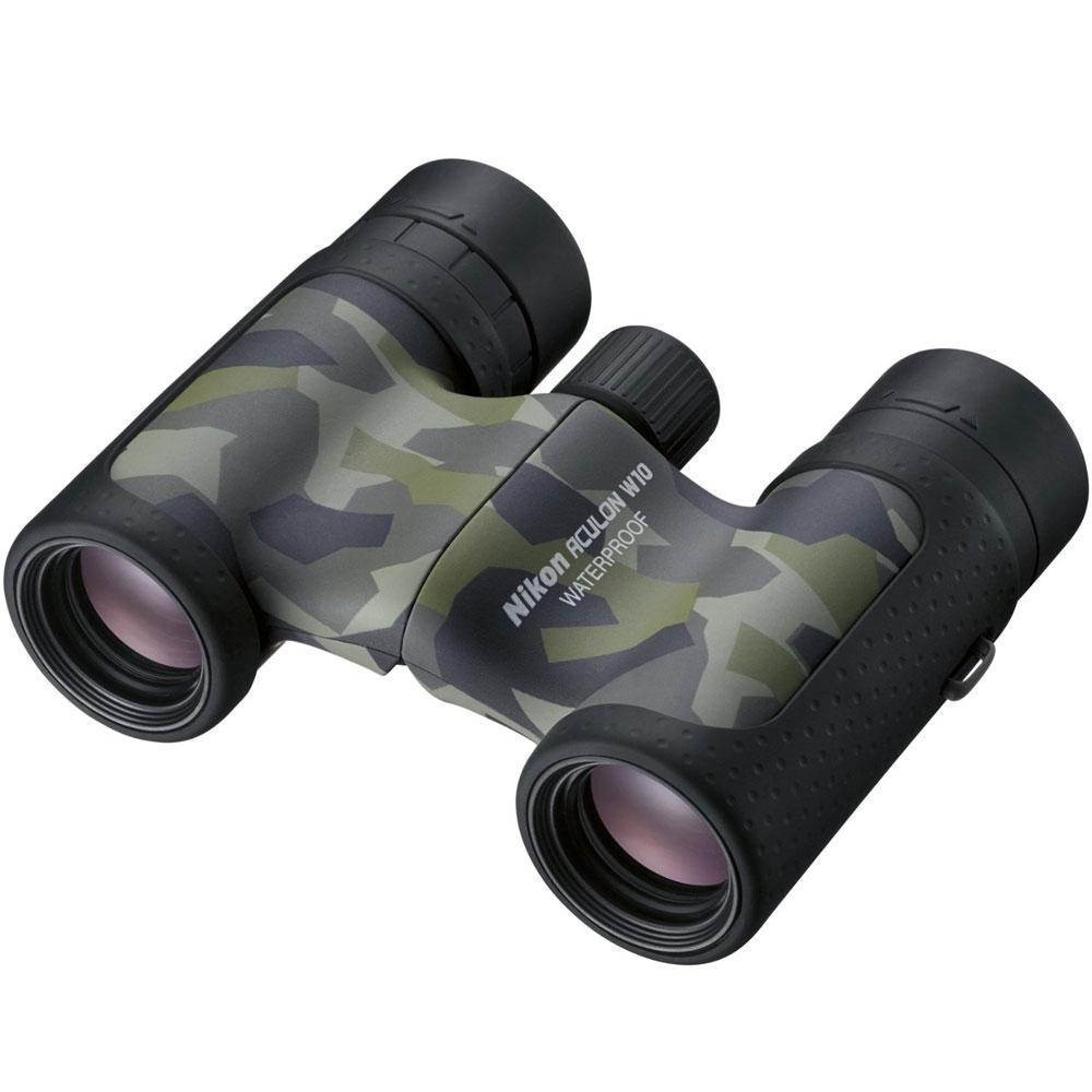 Nikon Aculon W10 10x21 Binoculars - Camouflage