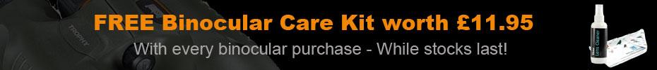 Free Binocular Care Kit worth £11.95